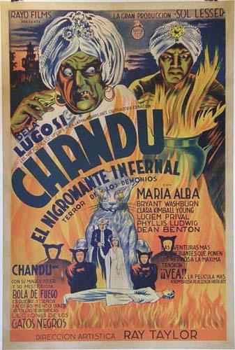 Chandu poster Argentina