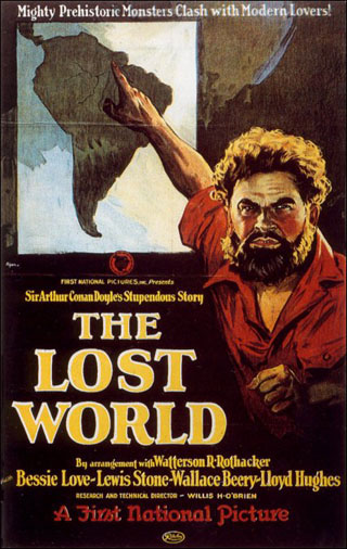 Lost World Poster-map