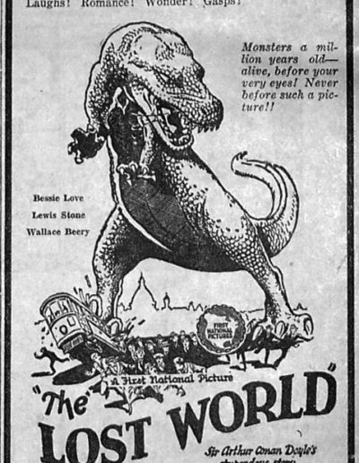 Lost World bw poster